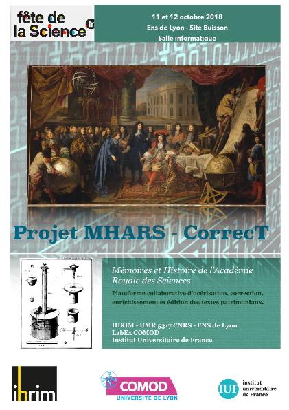 MHARS- Fête de la science 2018